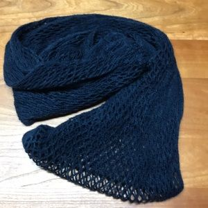 Warm navy scarf